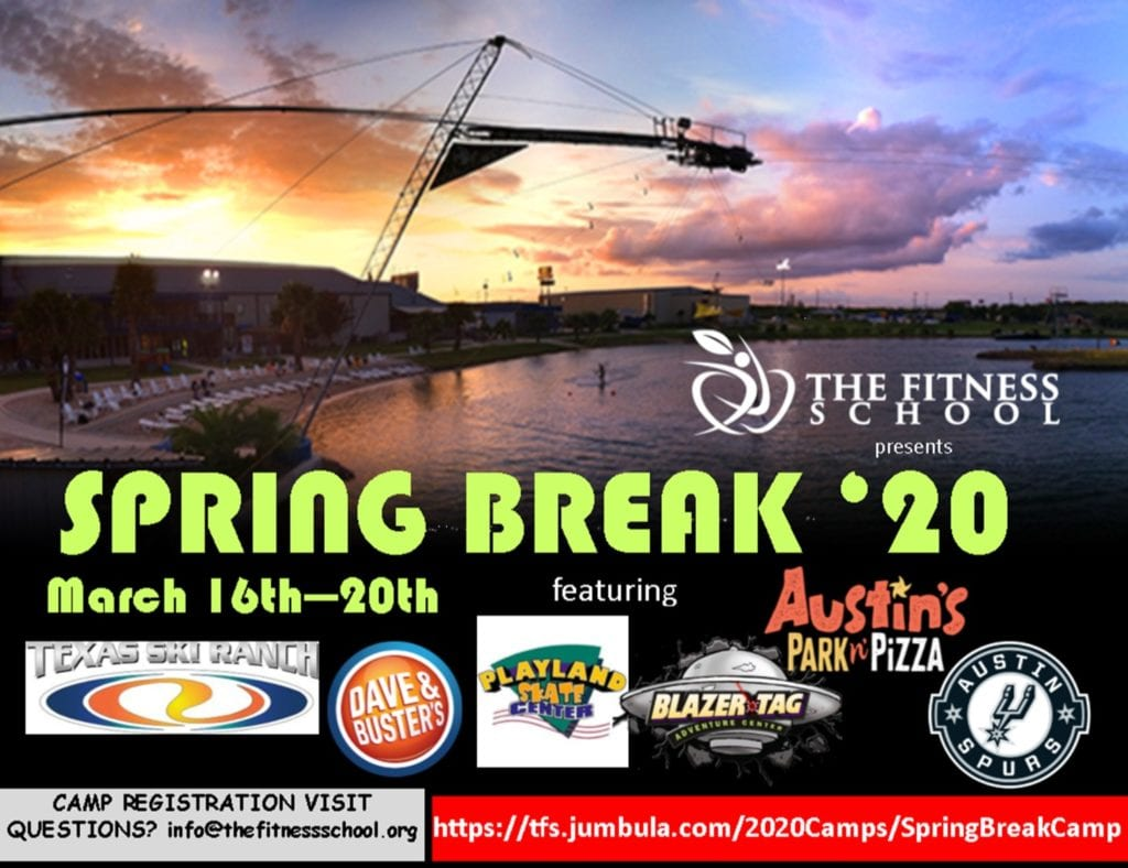 Spring Break Camp 2020 | The Fitness School